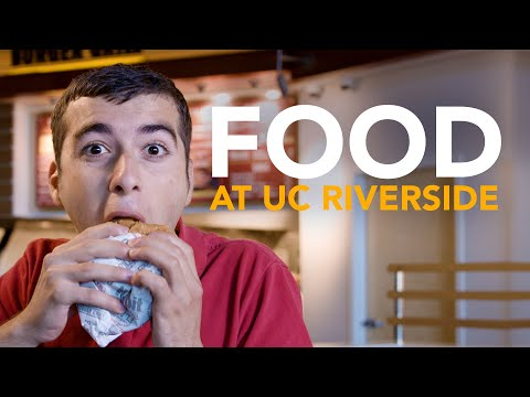 UC Riverside Campus Dining Tour