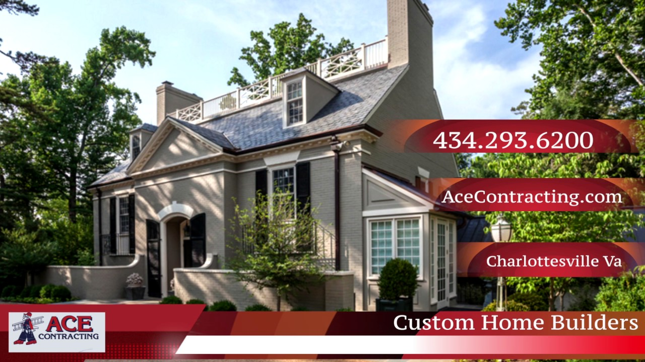 Custom home builders charlottesville virginia cville for Custom home builders charlottesville va