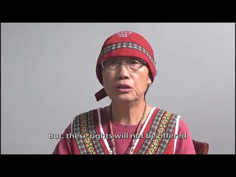Ms. Chang: Message from an Indigenous Woman Human Rights Defender from Taiwan