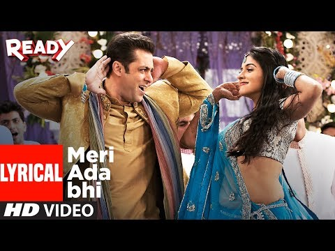Meri Ada Bhi With Lyrics | Ready | Salman Khan, Asin | Rahat Fateh Ali Khan, Tulsi Kumar