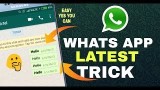 Whats App new cool trick || you should know || hindi urdu || try now