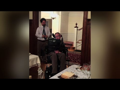 "Friend: Hawking Was ""Full of Life"" to the End"