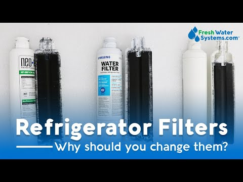 Why You Should Replace Your Refrigerator Water Filter