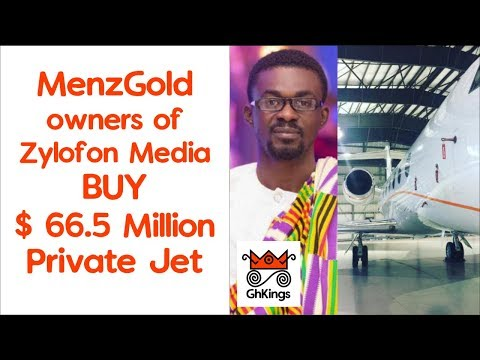 MenzGold: Owners of Zylofon BUY $ 66.5 Million Private Jet