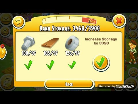 Upgrade Barn 3950 | Hay Day Game play