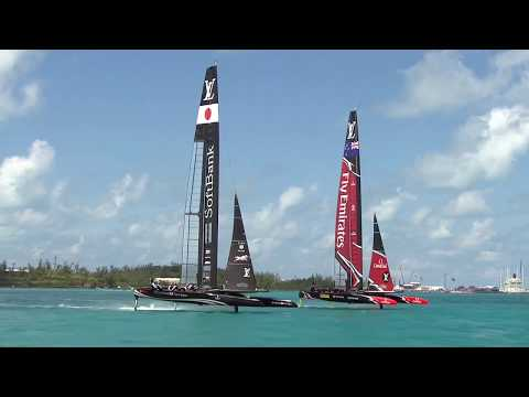 Day Two - America's Cup Qualifiers // SoftBank Team Japan