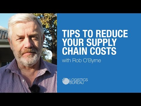 Tips to Reduce Your Supply Chain Costs
