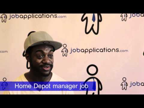 Home Depot Interview - Department Manager