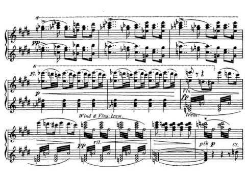 R. Wagner: Tannhäuser Overture. Partitura reducida.
