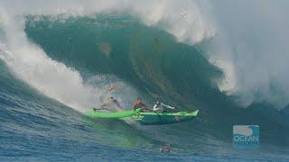 Canoe Surfing Giant Waimea
