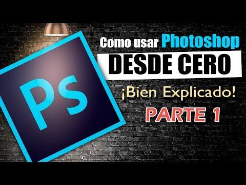 Como Usar Photoshop Curso Básico Aprende Gratis De Las Herramientas Conceptos Retoques Adobe Cs6 Cc