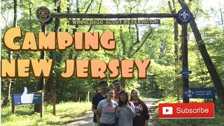Camping at Boy Scout Camp (New Jersey)