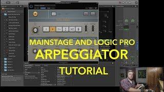 MainStage/Logic Pro Arpeggiator Tutorial- MainStage 3