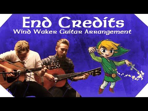 Wind Waker End Credits - Legend of Zelda - Guitar Arrangement