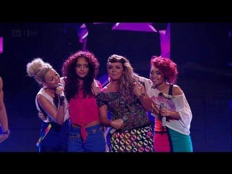 Our Rhythmix girls go all Nelly Furtado - The X Factor 2011 Live Show 2 (Full Version)