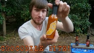 The 'crocodile Bite Habanero Sauce' Review! - Country Harvest Australia