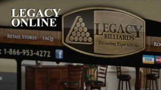 The Legacy Difference: Fastest Growing Billiards Manufacturer