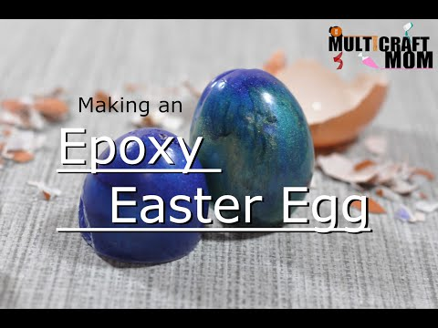 Epoxy Resin Easter Egg!