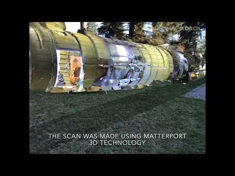 Matterport AR mashups: Microsoft Hololens, Google ARCore