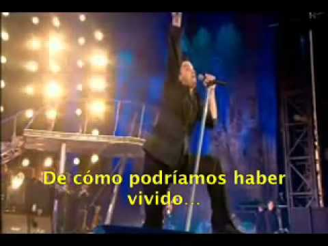 Robbie Williams - No Regrets (Live At Knebworth) Subtitulada Al Español