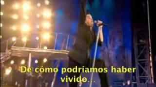 Robbie Williams - No Regrets (Live At Knebworth) Subtitulada al Español