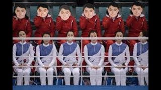 South Koreans fuming over North Korean cheerleading squad