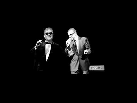 "GEORGE MICHAEL and Elton John ""Tonight"" , a tribute 1963 - 2016"