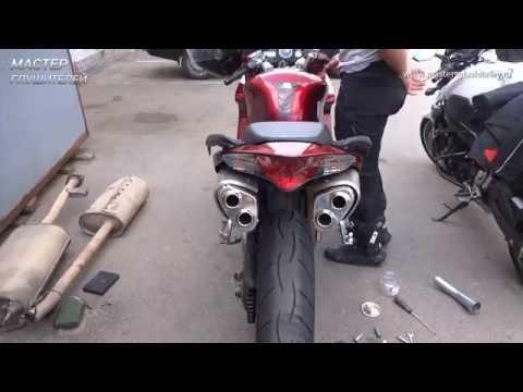 Изготовление прямоточных глушителей на мотоцикл Honda