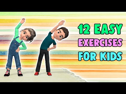 12 Easy Exercises For Kids At Home