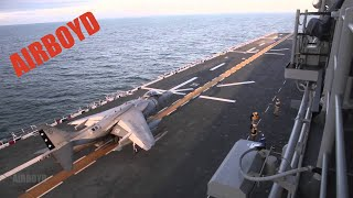 Harrier Operations USS Bataan (LHD-5)