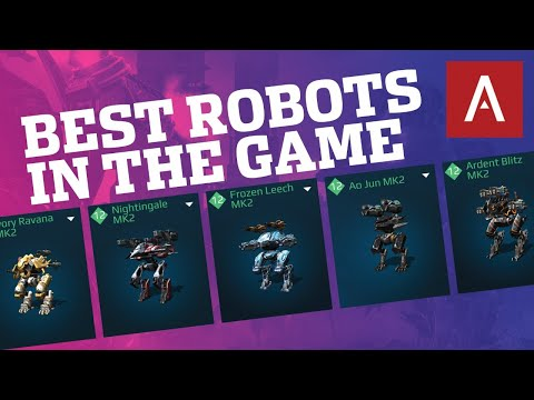 🔴 War Robots - Best Robots In The Game (My Top 5) WR Max Gameplay Live