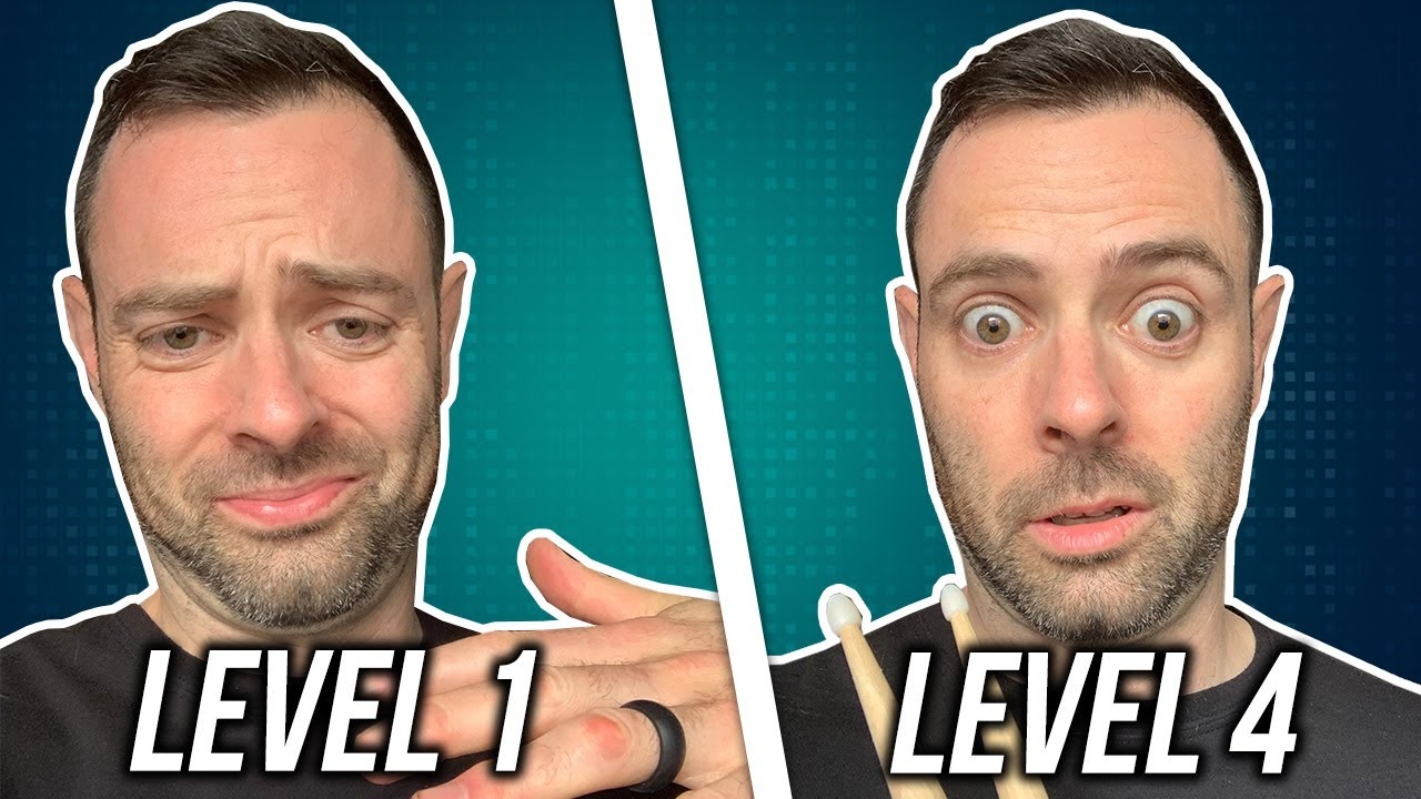 4 Levels of Sextuplet Drum Fills - Can You Do Them All?