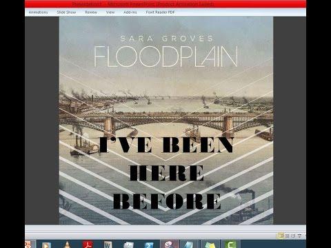 Sara Groves - I've Been Here Before (Lyrics)
