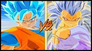 SAGA SUPER vs SAGA AF (3x3 Very Strong) Dragon Ball Z Budokai Tenkaichi 3