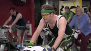 The Office The Cover-Up  Season 6 Episode 24 Dwight Schrute Takes Over Spin Cycle Class