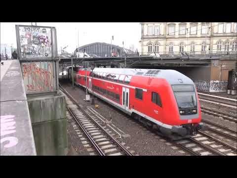 The ANWP Rail Video Diary Episode 136 International 1, Hamburg Hbf and City Centre