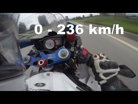 Top speed test on a 600cc (Nepal) - Acceleration 0 - 236