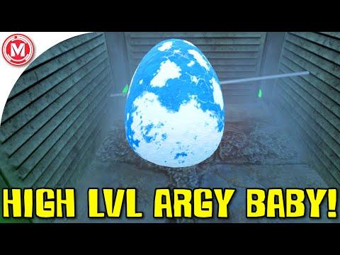 ARK: Survival Evolved - High Level Argy Baby! (Gameplay)