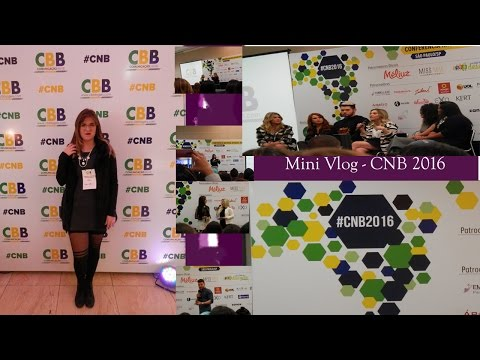 Vídeo: Mini Vlog CNB 2016