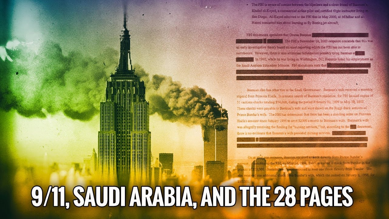 Saudi Arabia will be responsible for the September 11 terrorist attack