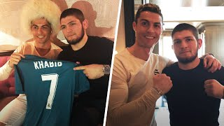 Cristiano Ronaldo and Khabib Nurmagomedov: good friends and hard workers | Oh My Goal