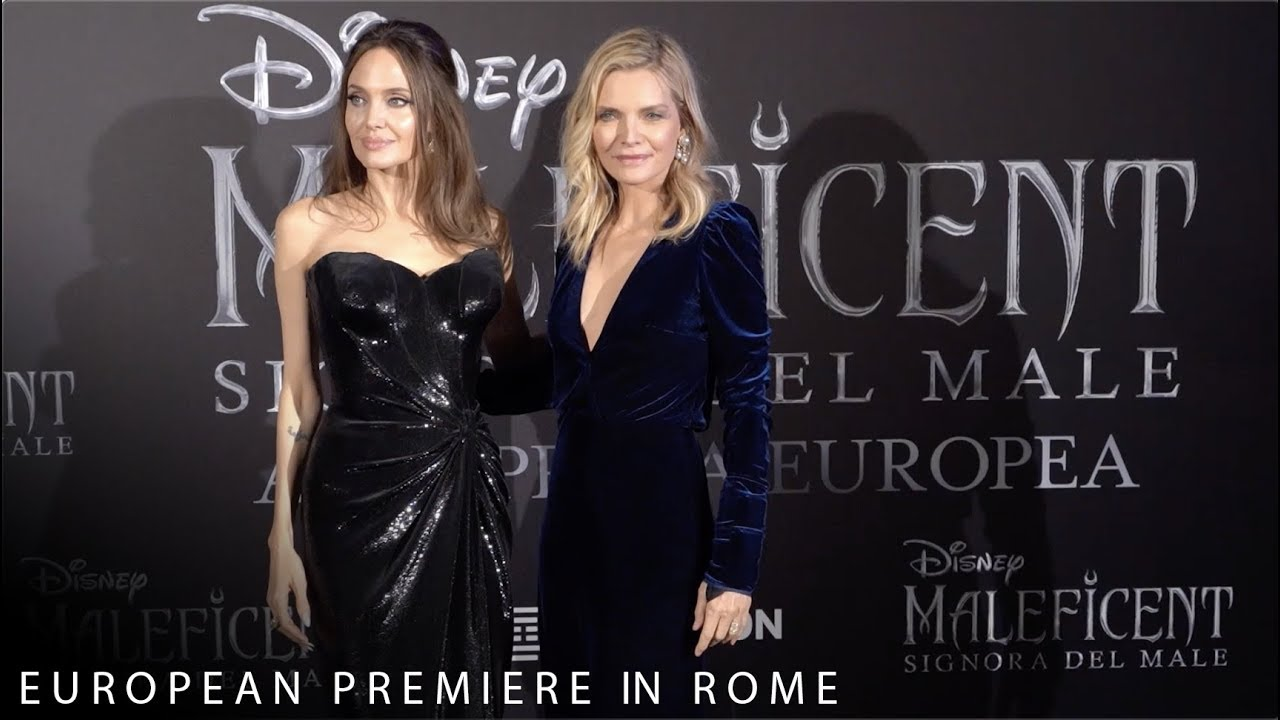 Disney S Maleficent Mistress Of Evil European Premiere In Rome