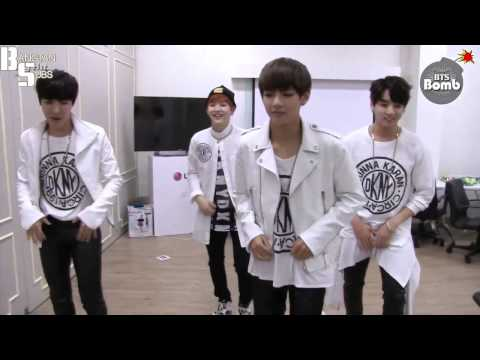 [ENG] 150206 [BANGTAN BOMB] it's tricky is title! BTS, here we go! (by Run–D.M.C.)