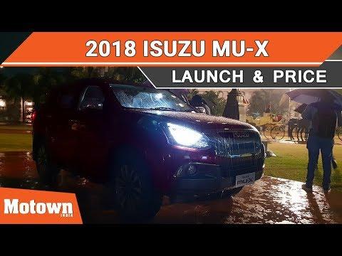 2019 Isuzu mu-X Facelift | Launch & Price