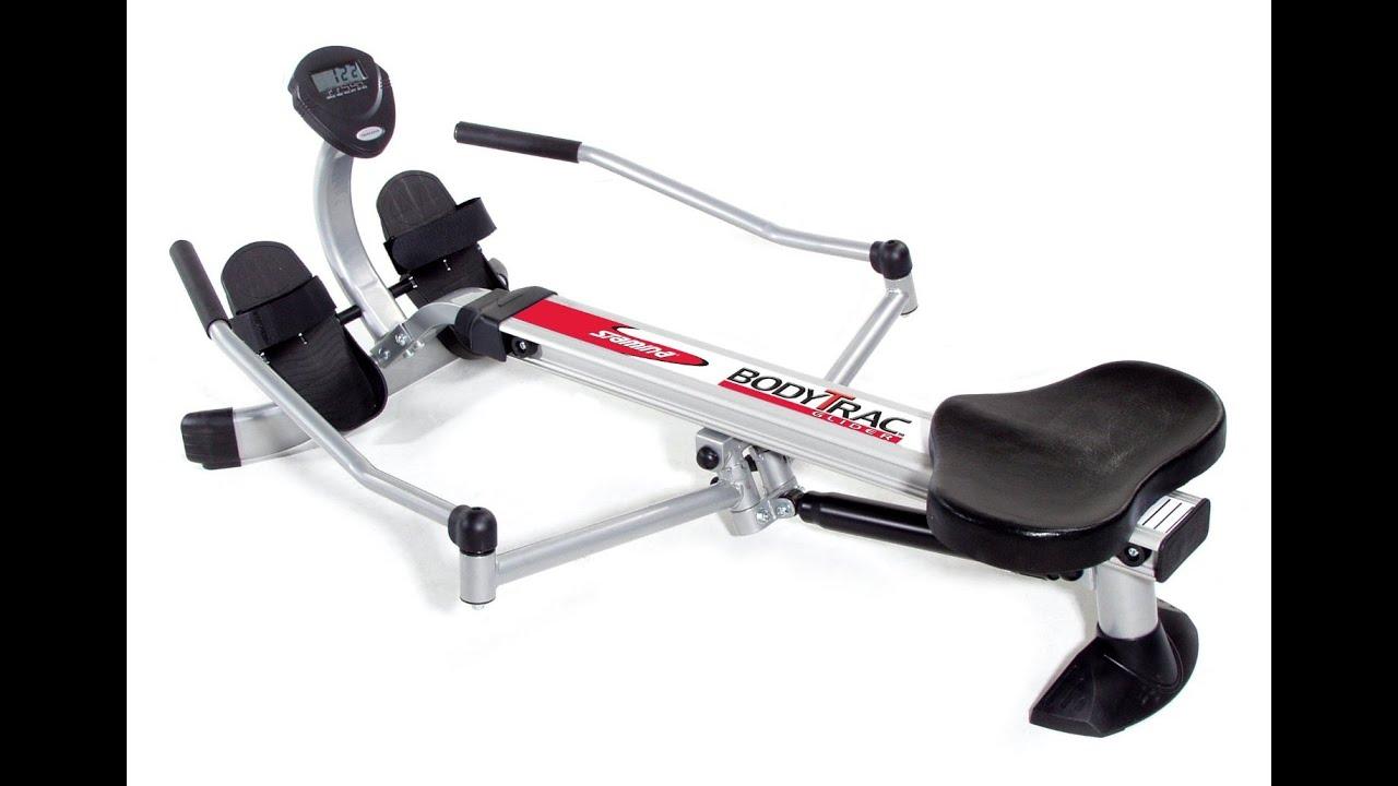 Body trac rowing machine – parketa. Info.
