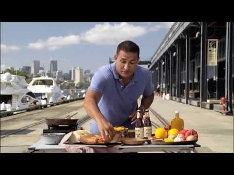 James Squire Spice Trail  Chorizo, Crispy Pork Belly & Garlic Breadcrumbs recipe