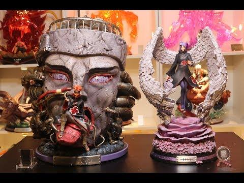 Naruto, Dream Studio Konan Akatsuki Resin Statue Unboxing.