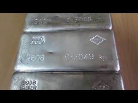 Silver Stackers Auction #64 | 3 x S.R.M 500g Silver Cast Bars | Gold Stackers Australia