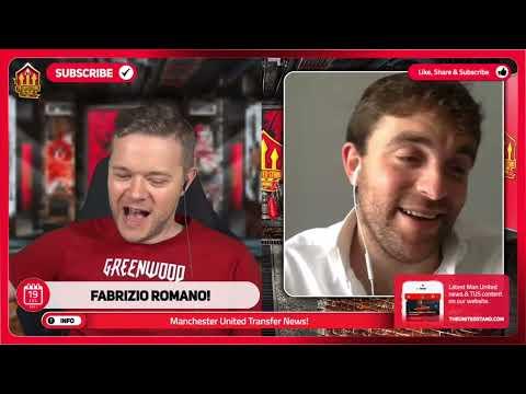 FABRIZIO ROMANO GIVES A TRANSFER UPDATE ON MAN UNITED