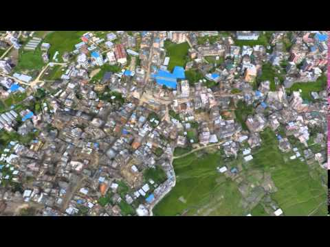 3D Model of Nepal Disaster Damage (Large)